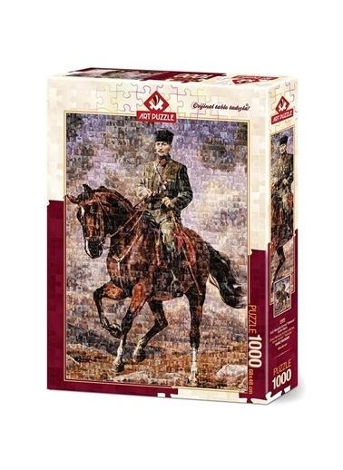 Art Puzzle Art Puzzle Gazi Mustafa Kemal Sakarya 1000 Parça Puzzle Renksiz
